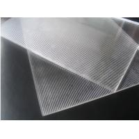 Buy cheap Super transparent PS 3d lenticular 1.2*2.4m 2mm 40lpi 3.95mm material for injekt from wholesalers
