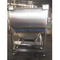Buy cheap 800L Bin Antirust Pharmaceutical Accessories Chemical Medical Mixing Bin from wholesalers