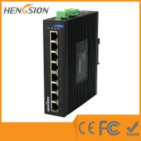 Buy cheap 8 Port Auto Adaptive Unmanaged Full Gigabit Switch , Industrial Ethernet Switch product