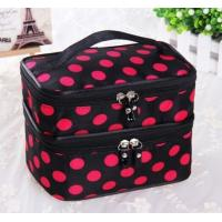 Buy cheap round dot statin leather cosmetic bag for lady product
