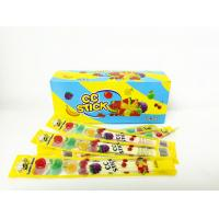 Buy cheap 2.58g Multi Friut Flavor Short CC Stick Candy Lovely Package With Good Taste product