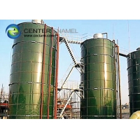 Buy cheap Superior Corrosion Resistance Glass Lined Steel CSTR Tanks For Biogas Projects from wholesalers