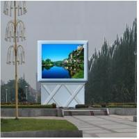 Buy cheap DIP346 P10 LED Outdoor Advertising Screens , LED Video Screen 10000 dots / ㎡ product