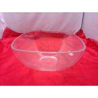 Buy cheap Food-grade Square Clear Acrylic Bowl For Salad / Fruit 230 by 110mm product