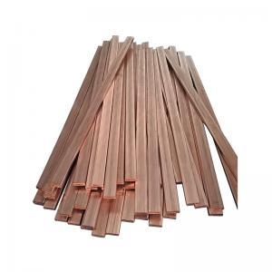 Buy cheap Electrode Material CuCr1Zr C18150 / 18200 / 15000 Chromium Zirconium Copper Alloys Rod / Wire / Strip product