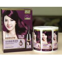 Buy cheap Packaging Adhesive Metallic Product Labels For Shampoo Bottle Label Printing product