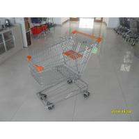 Buy cheap Low Carbon Metal Shopping Cart 100 L With 4 Swivel 4 Inch Autowalk Casters from wholesalers