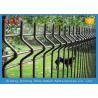 Quality Custom Black / Green Welded Wire Mesh Fence For Residential V Shape for sale