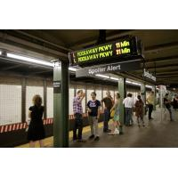 Buy cheap P10 Passenger Railway Display System LED Indicator Real Time Train Arrival product