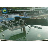 Buy cheap Food Grade Stainless Steel Bolted Tanks For Dry Bulk Storage Silos AWWA D103 product