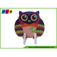 Buy cheap Retail Paperboard Standee Display Assembly Packing With Owl Printing AD004 from wholesalers