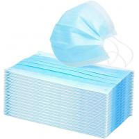 Buy cheap Disposable 3 Ply Face Mask For Germ Protection , Medical Surgical Mask Single Use product