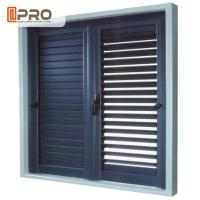 Buy cheap Safety And Environmental Aluminum Exterior Plantation Shutters Ventilation In Homes product