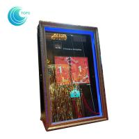 Buy cheap Led open air wedding photo booth 3d mirror selfie photo booth product