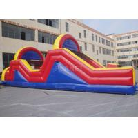 Buy cheap Indoor / Outside Inflatable Obstacle Course Training Course Equipment product
