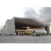 Buy cheap Wide Span Multi Storey Hangar Steel Structure Concrete With Steel Piping Truss product