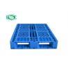 Buy cheap HDPE Basic Large Nestable Plastic Pallets , Plastic Skids Pallets Single Face product