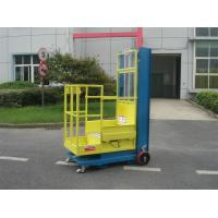 Buy cheap 4.3m Semi - Electric Aerial Order Picker For Supermarket Stock Picking product