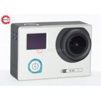 Quality Underwater 30m Sports HD DV With Adjustable Angle , HDMI 4K 24 Fps Action Camera for sale