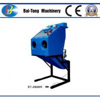 Buy cheap Dustless Reinforced Wet Sandblasting Cabinet Feed Abrasive 4 - 6kg For from wholesalers