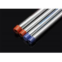 Buy cheap ISO BS4568 Conduit Hot Dip Galvansized Conduit Pipe with screwed ends and caps product