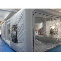 Buy cheap Outdoor Professional Inflatable Car Paint Booth 210 D Reinforced Oxford product