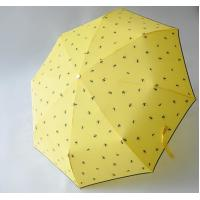 Buy cheap Micro Mini Manual Open Umbrella , Wind Resistant Rain Umbrella 8 Durable Ribs product