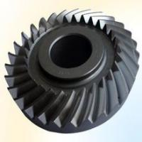 Buy cheap Bevel gear big size to 8 meter diameter as custmer drawing left or right, spiral bevel driving gear product