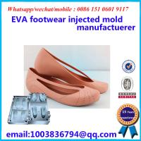 Buy cheap Commercial Slipper Mold Fashionable Design Footwear Injected Mold from wholesalers
