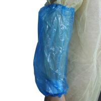 Buy cheap PP PE Plastic Waterproof Sleeve Cover Disposable For Food Processing / Medical product
