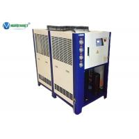 Buy cheap 10 HP 5 C ~ 35 C Air Cooled Water Chiller Water Cooling CNC Chiller Oil Chiller product