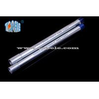 Buy cheap Galvanized Steel BS4568 Conduit / BS4568 TUBE / GI PIPE With Protection Cap product