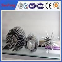 Buy cheap industrial al6063 t5 aluminum extrusion heatsink profiles cooling fin manufacturer product