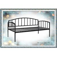 Buy cheap Modern Home/Outdoor Black/White Twin Size Metal Daybed from wholesalers