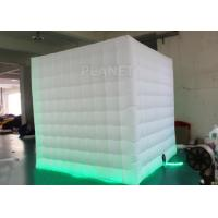 Buy cheap 8 Ft Inflatable Cube Photo Booth UV Resistant PLT - 025 2 Years Warranty product
