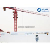 Buy cheap Durable 8T Top Flat Type Topless Tower Crane With 45m Working Height product