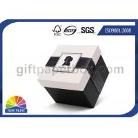 China Delicate Folding Paper Jewelry Boxes Wholesale / Printing Small Cardboard Packaging Box on sale