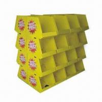 Buy cheap Trade Show Furniture, Made of Corrugated Cardboard Material, 300 Pieces MOQ, OEM/ODM Orders Welcomed product