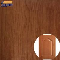 Buy cheap Colorful Embossed Wood Grain Decorative PVC Furniture Film For Kitchen Cabinets product