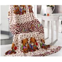 Buy cheap Downy Coral Fleece Blanket For Adult And Children , Home And Hospital Use product