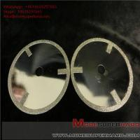 Quality Electroplated diamond cutting discs have very sharp cutting performance and for sale