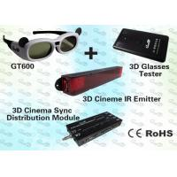 Buy cheap 3D Cinema Solution with IR Emitter and Active Shutter 3D Glasses product