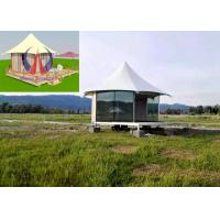 Quality Durable Exquisite Fabric Sail Luxury Tent Hotel Camping Hovel With Window for sale