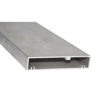 Buy cheap Hollow Rectangle Powder Coated Medical Aluminum Extrusion Profiles product