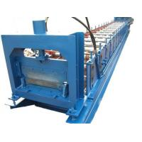 Quality 1.2mm Thickness Anode plate roll forming machine PLC control with Punching System for sale
