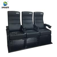 Buy cheap Modern 4D Cinema Chair / Comfortable VIP High Back Movie Theater Seat product