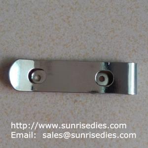 Buy cheap Manganese steel spring clips heat treated, stamped manganese steel spring clips product