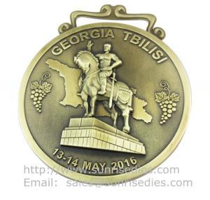 Buy cheap Custom 3D embossed metal medallions, personalized metal sport medal sport medallions product