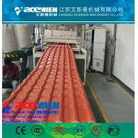 Buy cheap Hot popular pvc plastic roofing sheet extrusion machine/glazed tile equipment extrusion line product