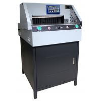 Buy cheap 490mm Electric Program - Control Paper Cutting Machine Automatic Clamping  E490R product